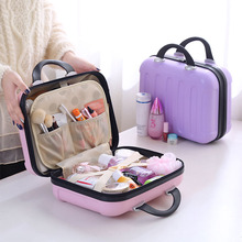 Eyelashes Makeup Brush Mini Plastic ABS Beauty Organizer Vanity Cosmetic Case
