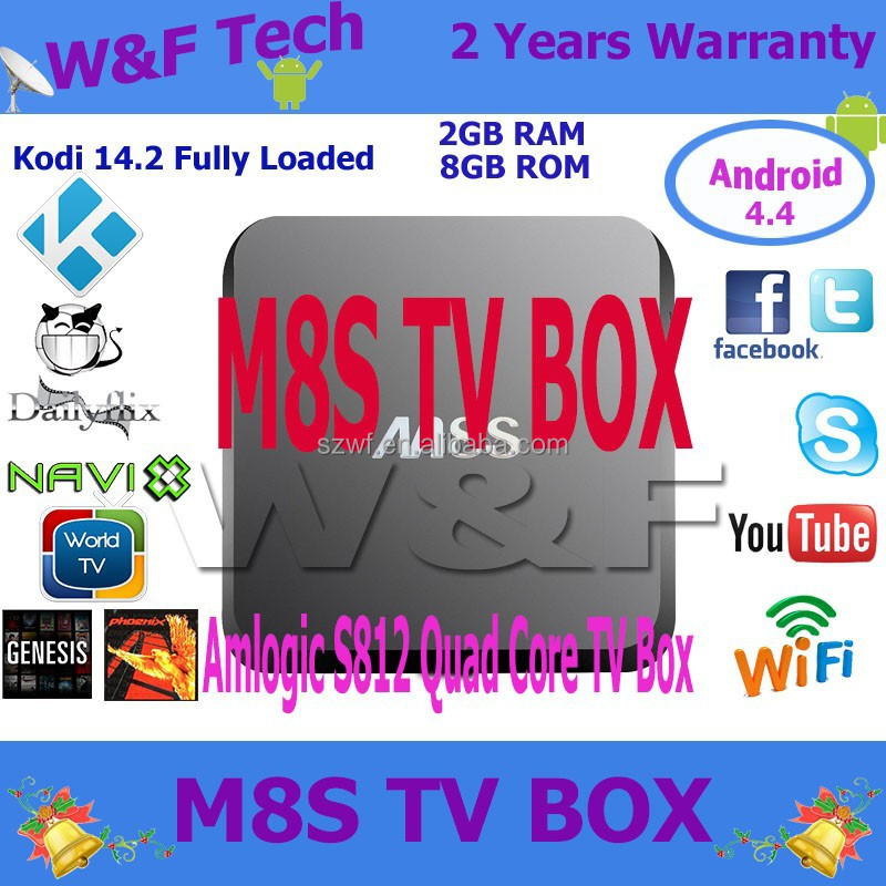 android 5.1 box tv m8s firmware update amlogic s812 m8s android tv box m8s 2 8g custom firmware xbmc android tv Box