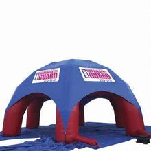 Book shape pvc inflatable tent