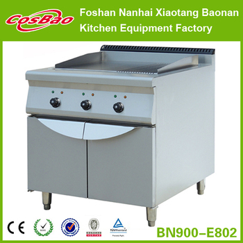 Combination Kitchen Equipment Electric Griddle and Cooking Instruments BN900-E802