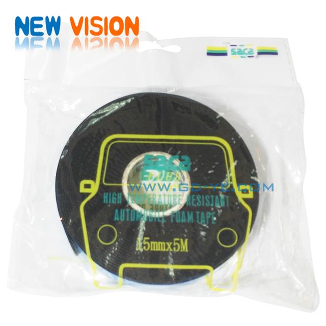 saca double face adhesive pe foam tape/pe foam tape