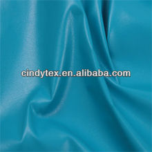 0.4mm azure soft 100%polyester pu microfiber leather