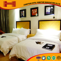 wholesale foshan designs solid wood royal hotel furniture bedroom beds for indian
