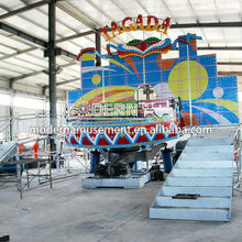 New product!2017 Outdoor theme park equipment amusement family rides Mini disco tagada for sale