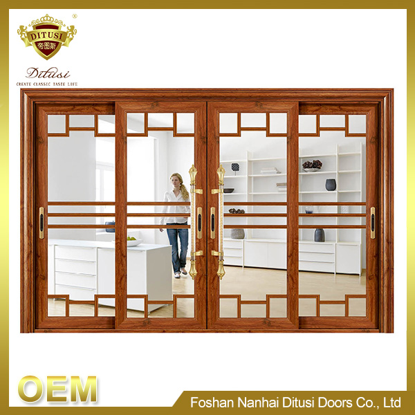 hot sale bathroom standard sliding glass door size TL-3002