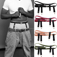 Fashion Personality Exaggerated Men Women Sexy Products Sling Garter Belt Street Beat Bar Stretch Belt Pants Clips