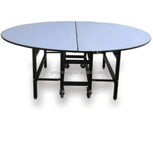 Cheap Chinese restaurant banquet table,round PVC Tables, dining tables