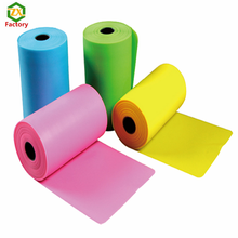 Rubber elastic latex stretch resistance band roll