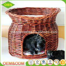 Excellent quality cheap comfortable wicker dog cat house for sale