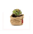 Washable kraft paper reusable foldable grocery storage bag