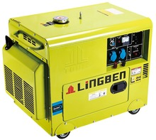 Lingben Diesel Welder Generator Series 4-stroke Engines 380V Three PhaseLB6000LNW