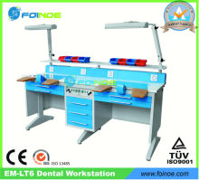 EM-LT6 Double Person Dental Lab Bench with CE