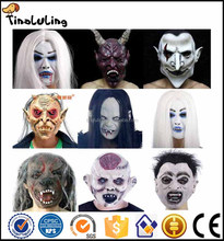 Wholesale The Grudge Sadako Eco-friendly Latex Scary Party Mask Halloween Ghost Mask