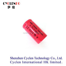 3.7V 700mah 18350 the rechargeable replacement li-ion battery for electric cigarette and toys