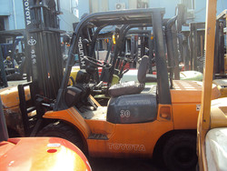 used forklifts toyota 3ton for sale/ 3 ton forklift made in japan / original japanese made