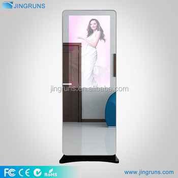 China manufacturer mall 42 inch advertising mirror kiosk music