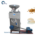small scale SD-30D Rice Huller Machine with Polishing Function Rice Polishing Machine