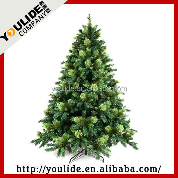 2016 tree/elk/snowing/butterfly felt christmas tree decoration/fiber optic christmas tree