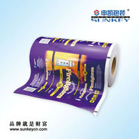 Mylar film for food packaging customized pinting