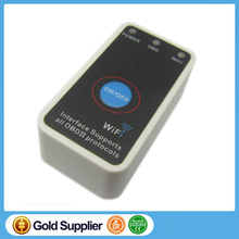 Super Mini ELM327 Wifi ELM 327 White OBD2 OBD ii CAN-BUS Diagnostic Tool+Switch Works on Android Symbian Windows