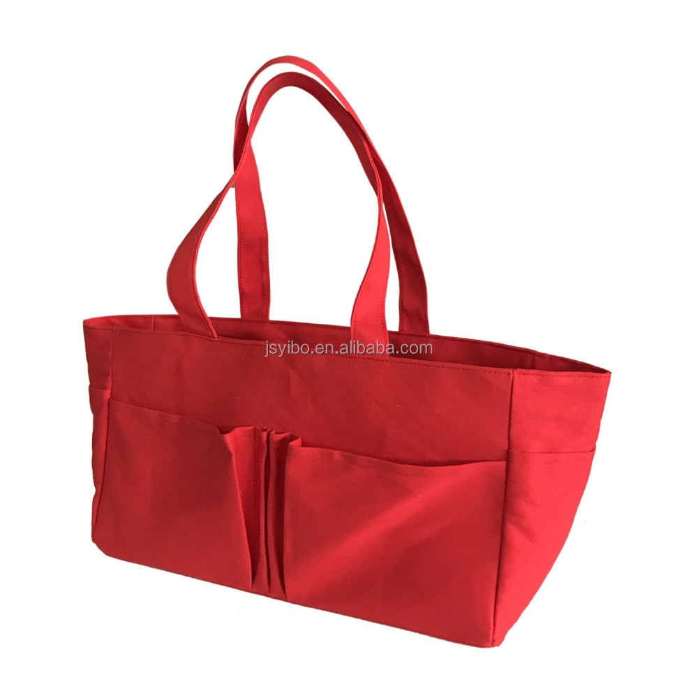 eco-friendly reusable canvas tote diaper bag