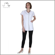 New Style Ladies Work Smock Uniform Tunic for Beauty Salon Beautician on Wholesale