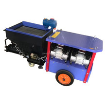 high pressure electric putty lime spray machine mortar plastering machine