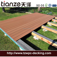 Non fade color composite WPC stair decking for outdoor
