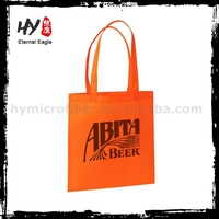 Promotion cheap folding nonwoven shopping bags for gift