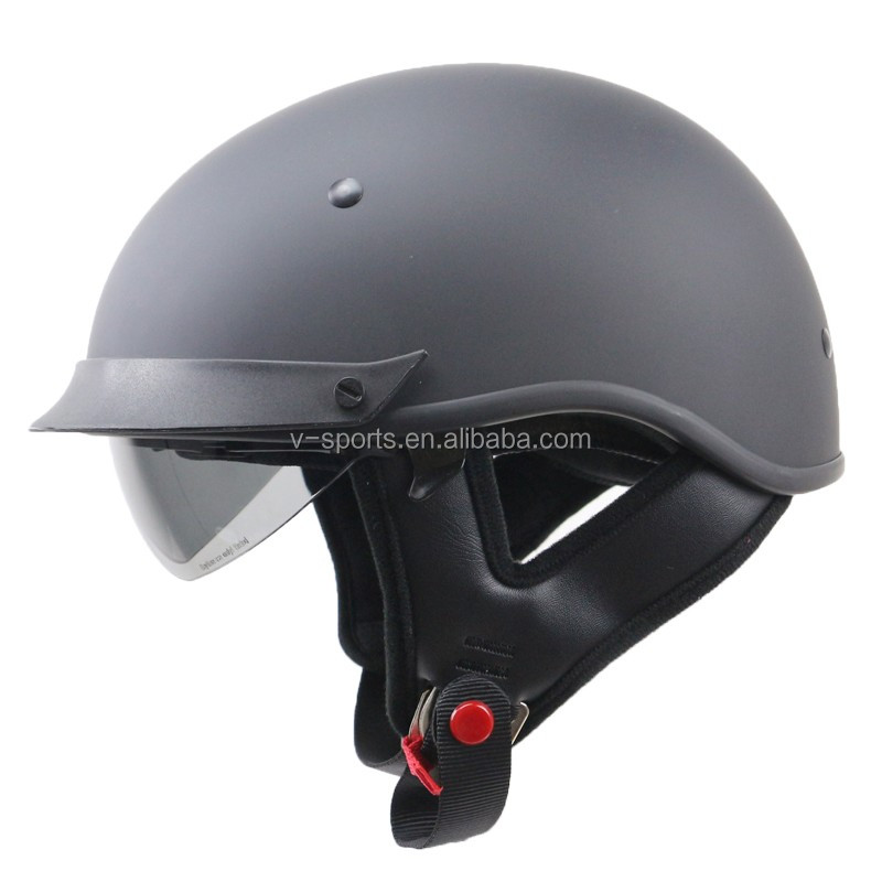 Jet Style motorcycle helmet DOT approved motorbike helmet Removable and washable liner for Harley Trumphi vicotry style bike