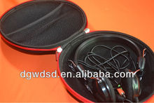 2012 Blue Jean Cover EVA Stereo Headphone case
