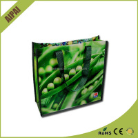 Wholesale AI PAI Reusable Shopping promotional laminated 32*25*8cm pp non woven bag price