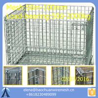 storage metal cage / steel storage cages / metal storage cages with 4 wheels