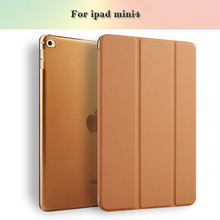 Joy Color For ipad mini4 Case Cover Smart Cover Ultra Thin Smart Stand For ipad mini4 Tablet Case