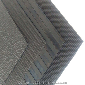 Recycled SBR Rubber Sheeting and Matting Manufacture In China