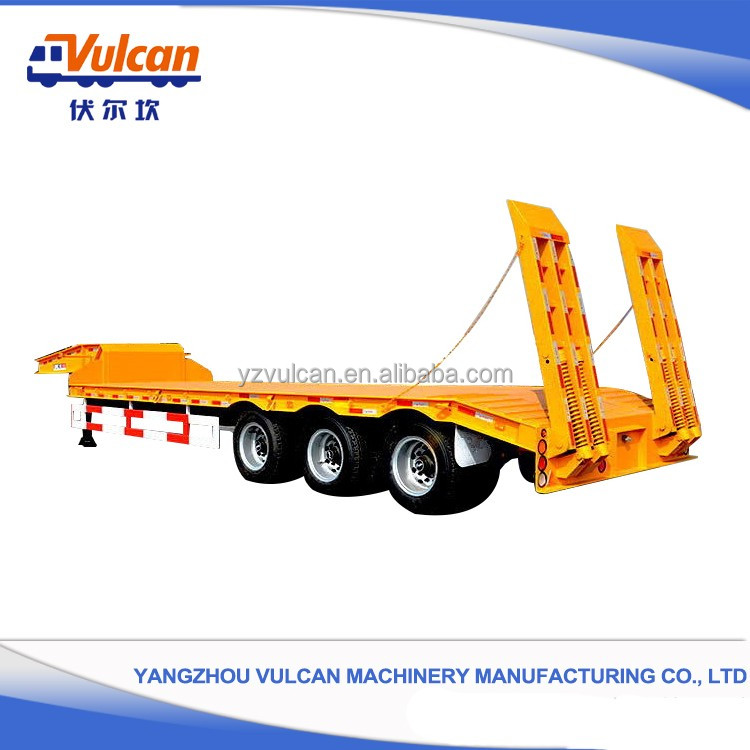 Chinese 20ft 40ft container flatbed semi trailer