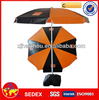 promotional PVC vinyl orange beach umbrella