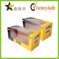 Customized storage window doll packaging box