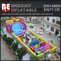 Giant Kids Inflatable Playground, Giant Inflatable Climbing Funcity,Giant Inflatable Slide Bouncer Combo