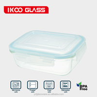 high borosilicate glass food warmer lunch box