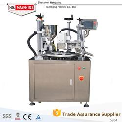 Tube Filler Sealer Machine For Hair Dye Paste