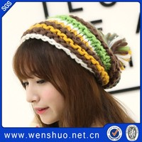 Japan New Hat Lady Winter Warm Knitted Hats Wholesale