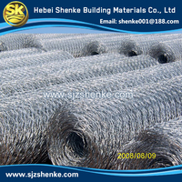 galvanized or PVC coated chicken coop hexagonal wire mesh
