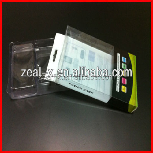 New Design Nice Price Plastic Cellphone Case Boxes Cellphone Case And Earring Boxes WIth Transparent Plastic Insert
