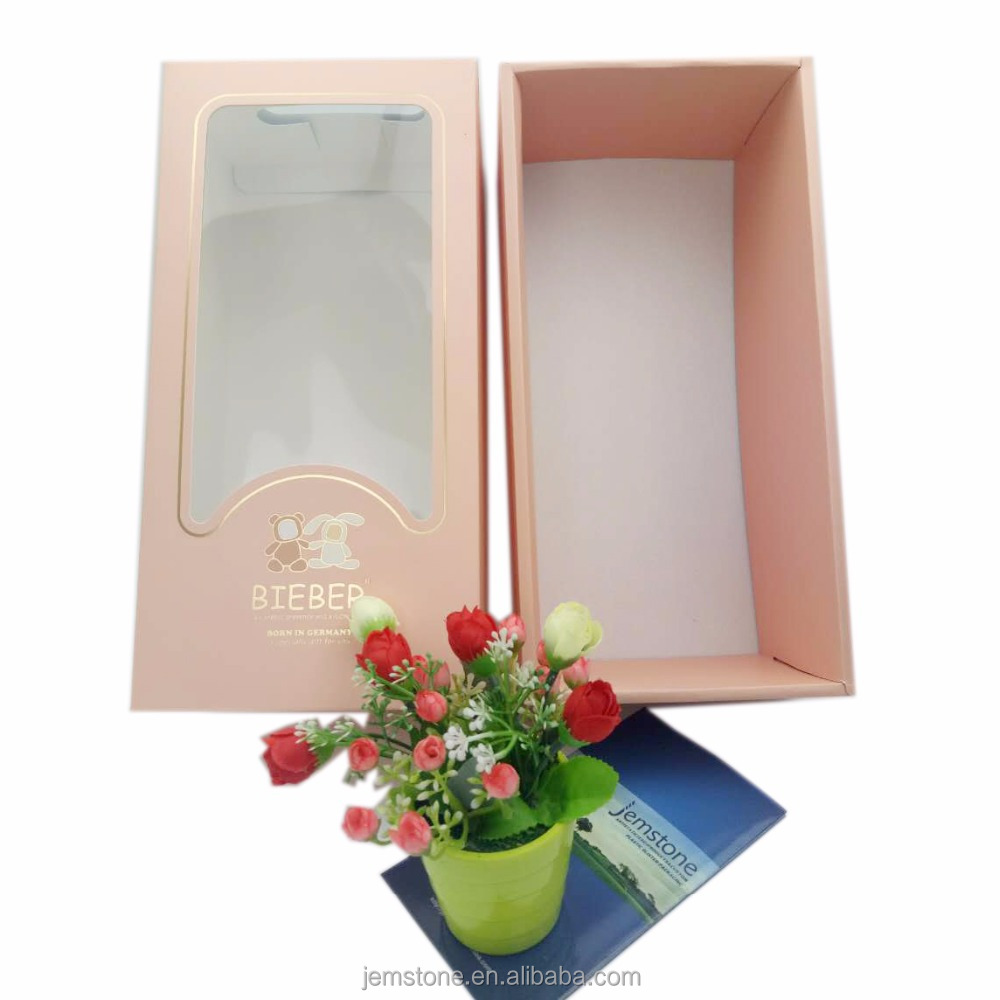 Window showed google custom cardboard 3D gift box wholesale in market