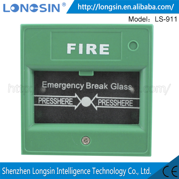 wholesale emergency Resettable Manual Call Point Fire Alarm Pull Station