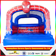 Mini spiderman Inflatable Jumping Bouncer for kids play game