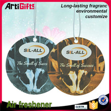Wholesale absorbent custom logo car paper air fresheners