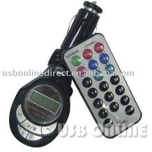 USB/SD/MMC Car MP3 Player With FM Transmiter