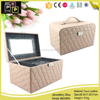 New products PU leather cosmetic case (8208)